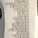 AMENDMENT I - Text close-up