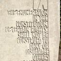 AMENDMENT IX - Text close-up