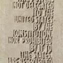 AMENDMENT X - Text close-up