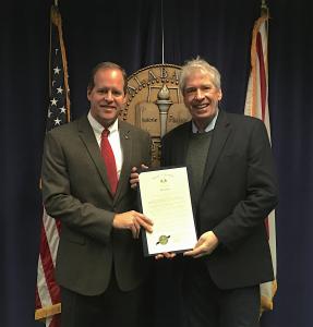 Senator Cam Ward and Executive Director Chris Bliss